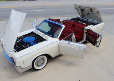 1966 Lincoln Continental convertible-SOLD
