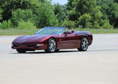 """2003 Corvette convertible """"50th Anniverary"""" 8,800 actual miles-SOLD"""