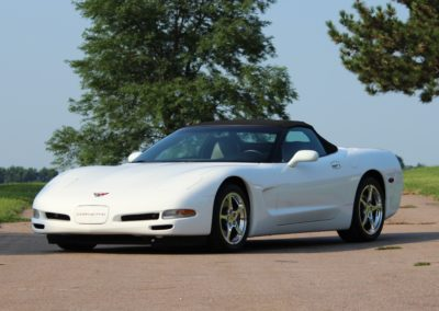 2004 Corvette convertible 13,400 actual miles-SOLD