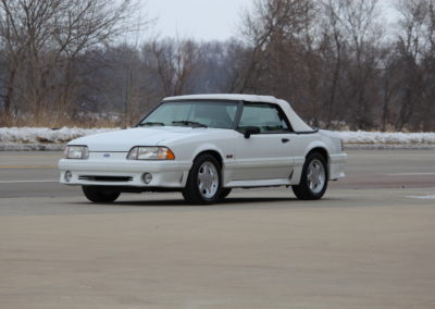1991 Mustang GT convertible 30,600 actual miles- SOLD