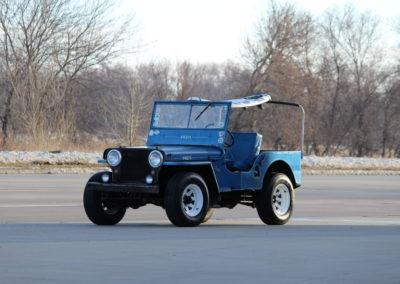 1949 Willys Jeep CJ2- SOLD
