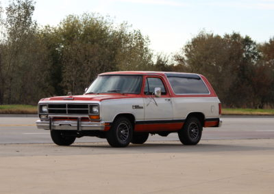 1986 Dodge Ramcharger- SOLD