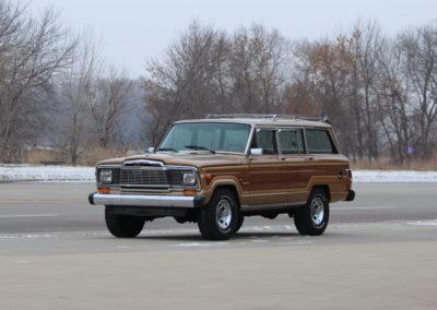 1982 Jeep Wagoneer unrestored- SOLD